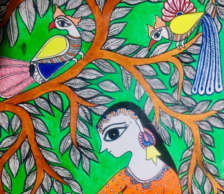 Create your own Madhubani Painting in 5 Easy Steps