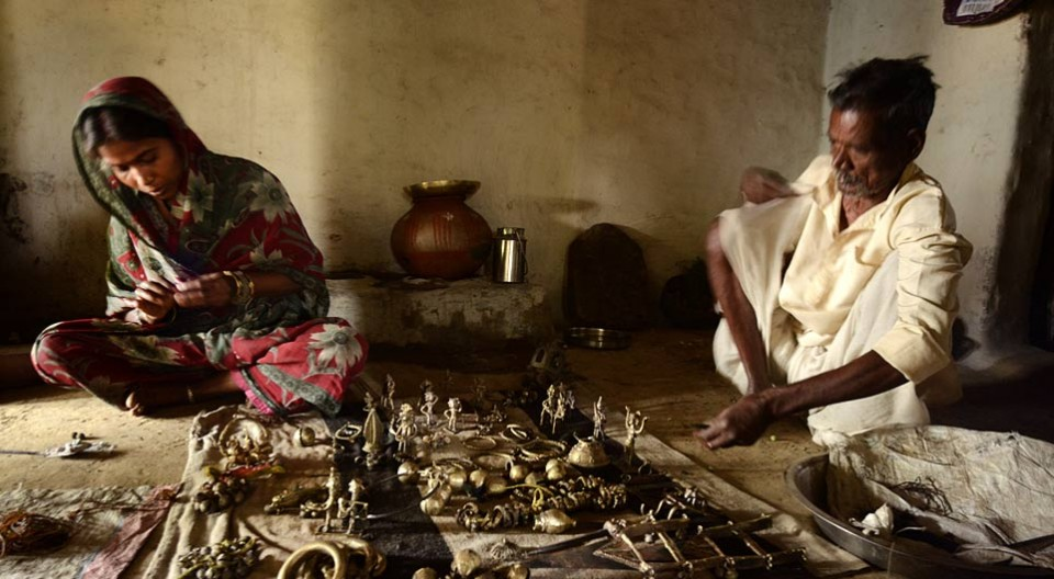 Indian Handicrafts and their link with the culture