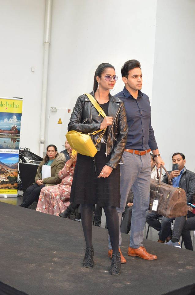 Leather Fashion Show in Germany on the occasion of Indian Leather Day