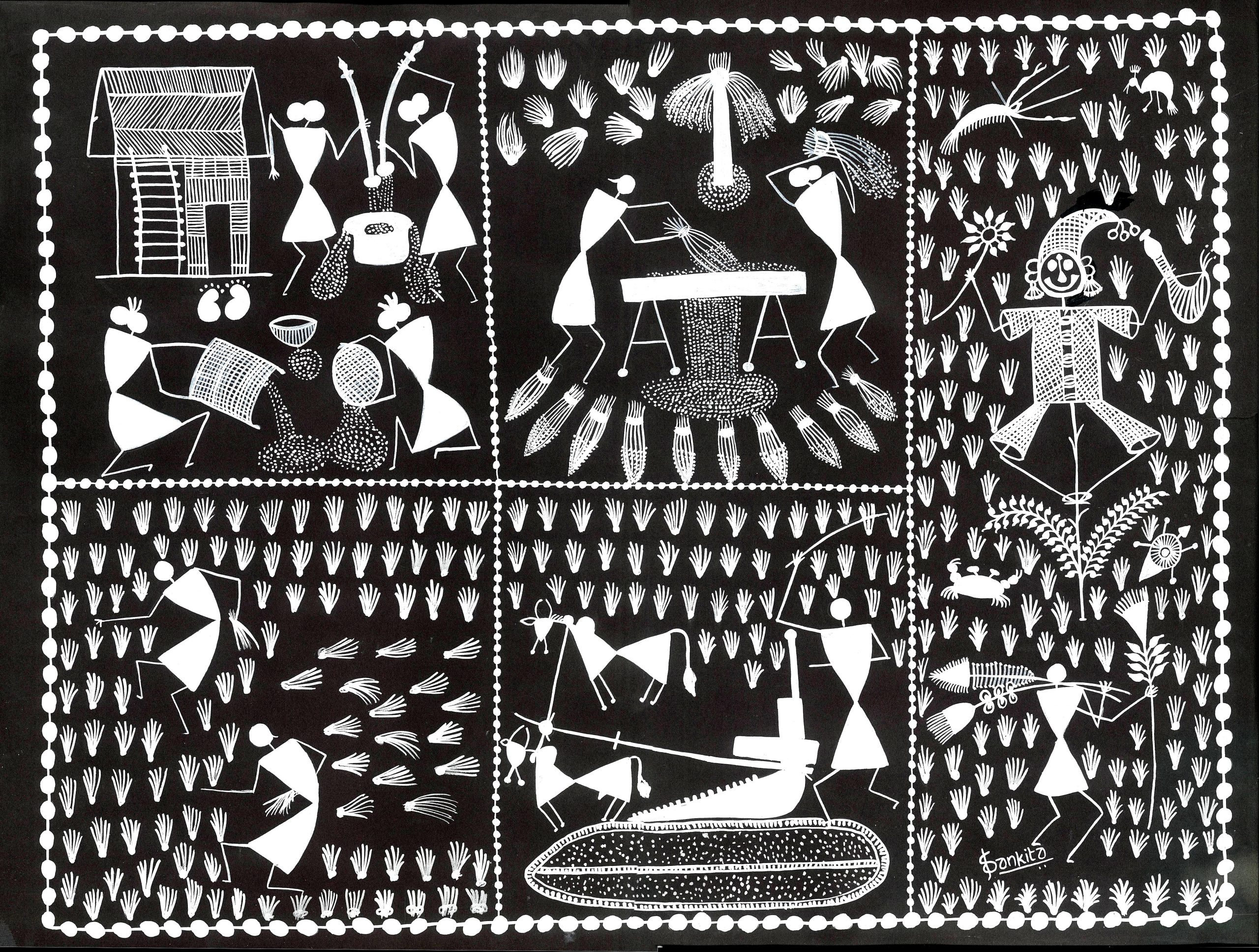 The Art of communication through paintings: WARLI
